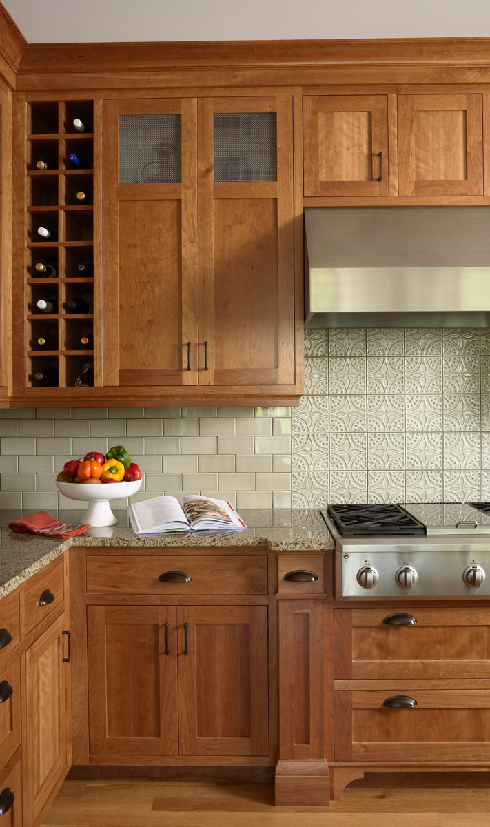Kitchen Backsplash Ideas With Light Maple Cabinets Home