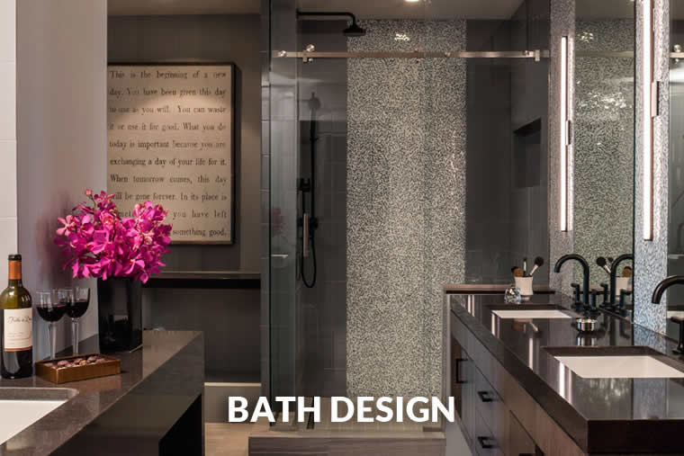 Bath design projects by LiLu Interiors