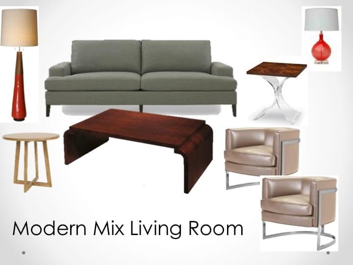 modern mix mood board LiLu Interiors
