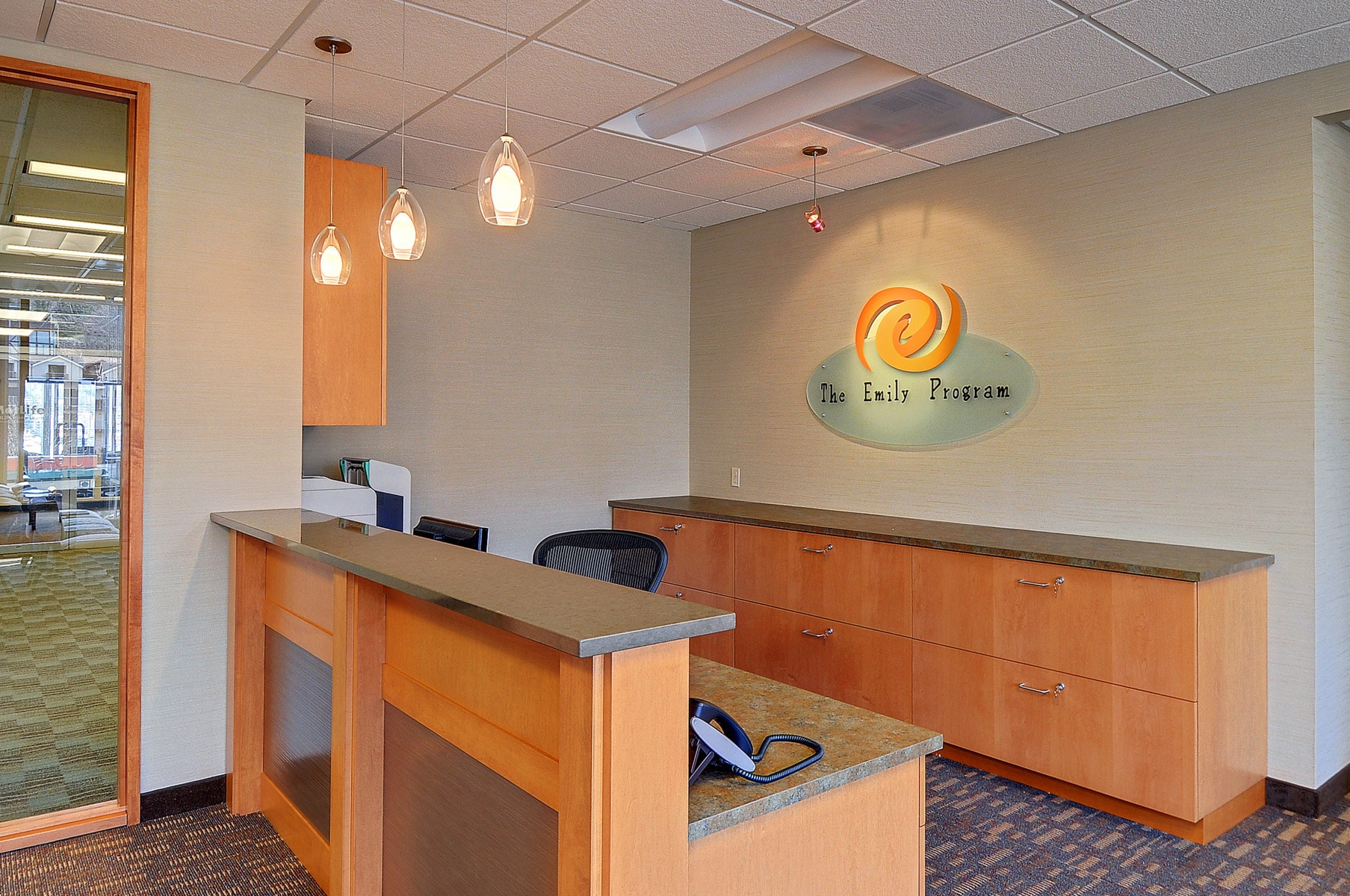 Commercial Interior Designers Therapy Office LiLu Interiors