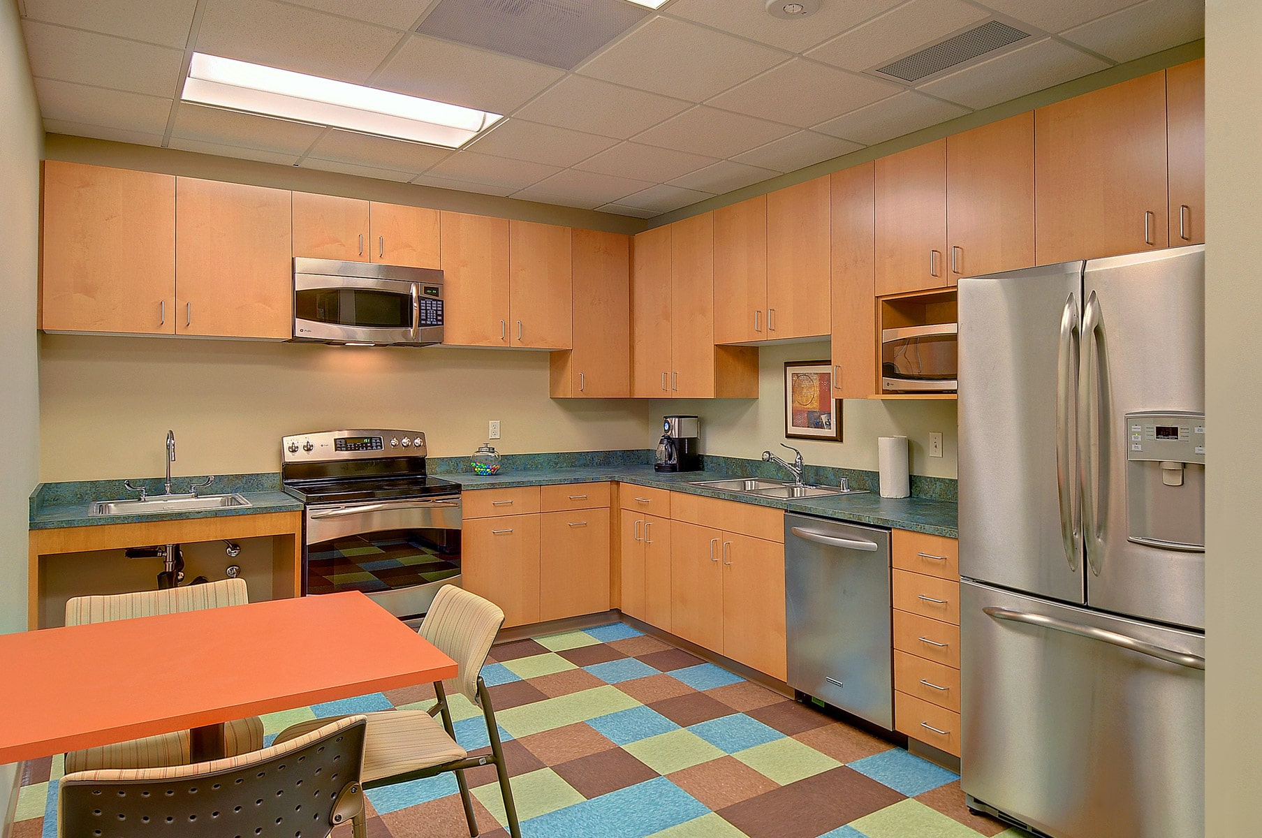 Commercial interior designers therapy office lilu interiors - Kitchen designers seattle ...