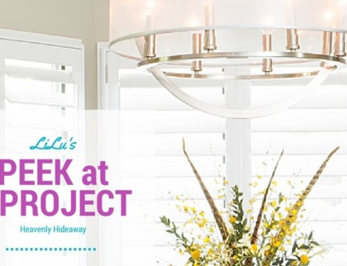 Peek at a Project – Heavenly Hideaway
