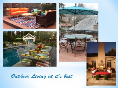 outdoor living space designs