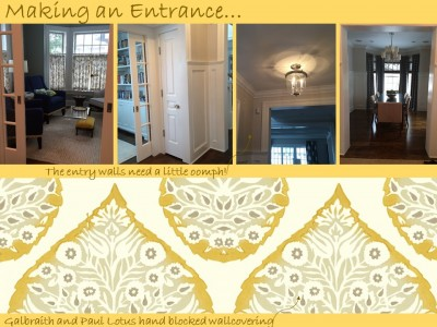 entry wallcovering