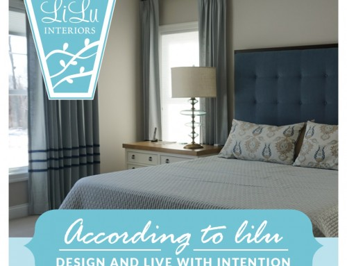 Live and Design with Intention