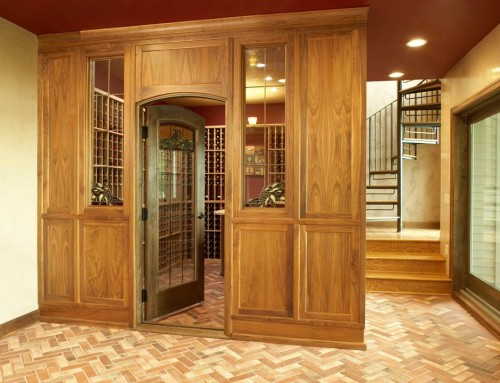 Custom Wine Room Design – Peek at a LiLu Project