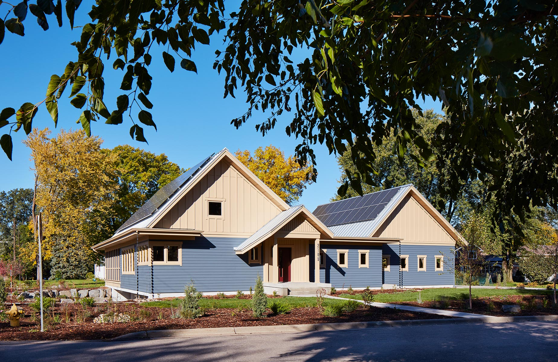 Net Zero Energy Efficient Home in Minnesota