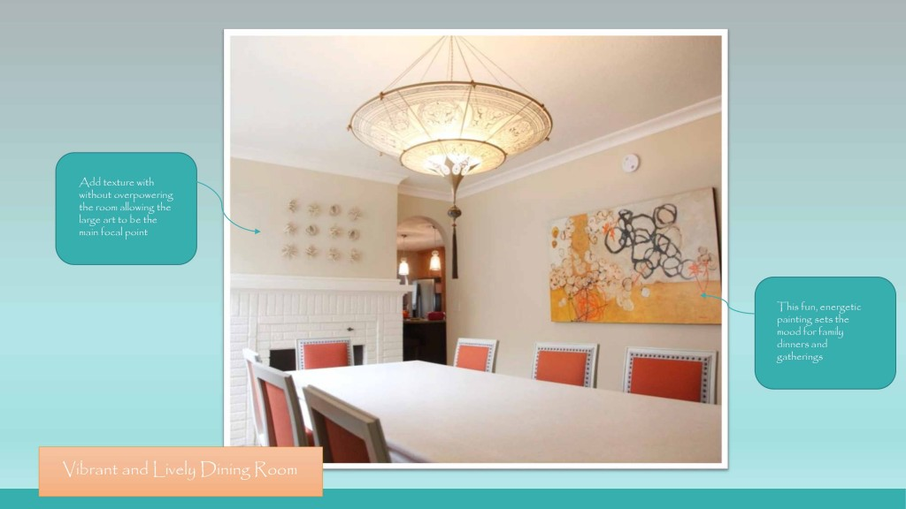 Home Full of Art-dining room