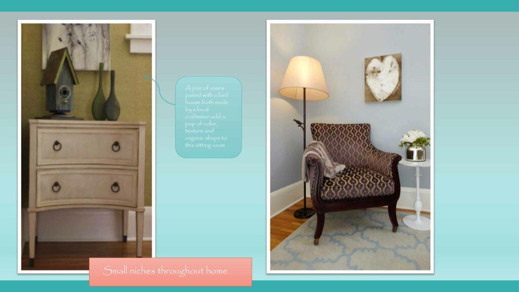Home Full of Art-cozy corners