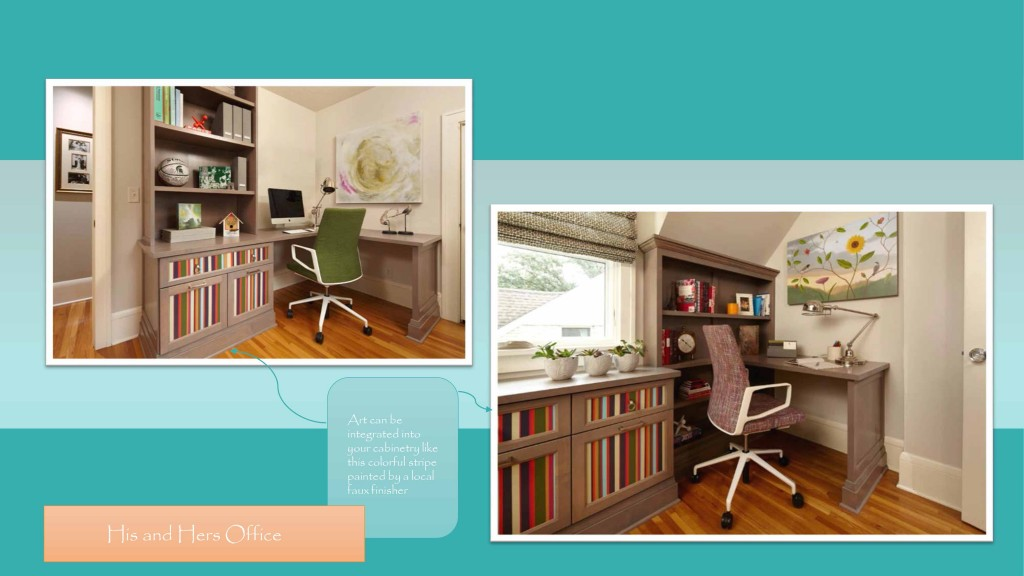 Home Full of Art-home office