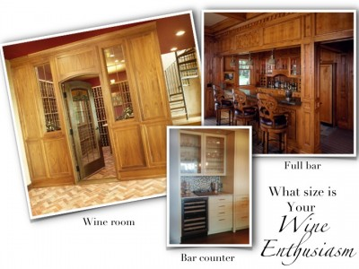 Design a wine room that fits you