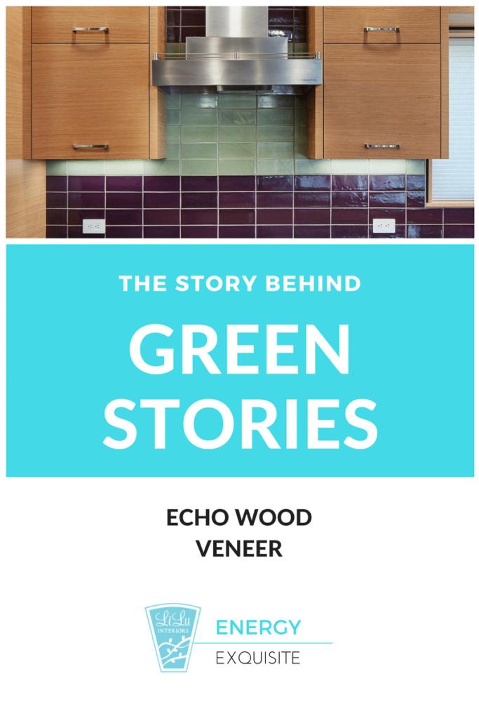 The Story Behind Green Design kitchen Echo wood veneer Energy Exquisite