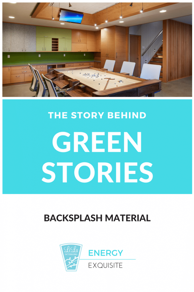 Green Design-Backsplash material