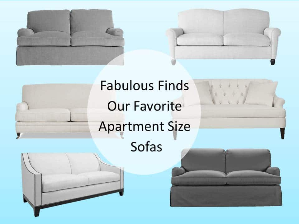 fabulous finds our favorite apartment size sofas friday s look