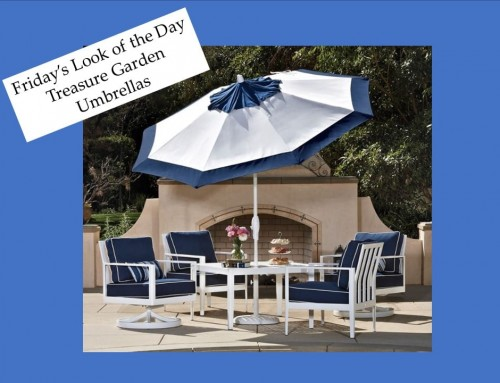 Favorite Outdoor Umbrella Company Treasure Garden – Friday's Look of the Day