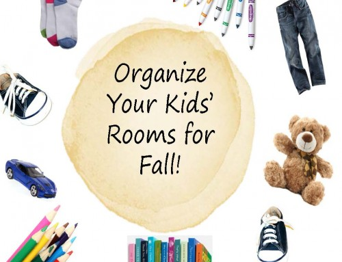 Why You Should Organize Your Kids' Rooms for Fall