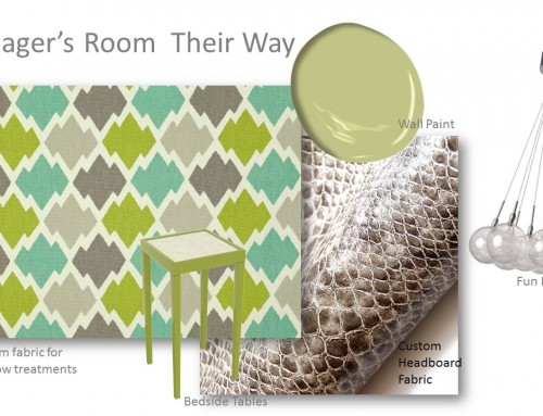 Teenager's Bedroom Their Way – Peek at a Project