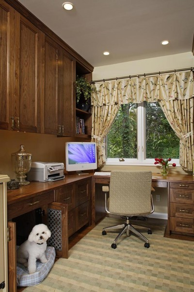 Custom Dog Kennel Home Office