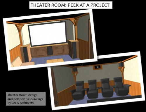 Home Theater and Media Room Design – Peek at a LiLu Project