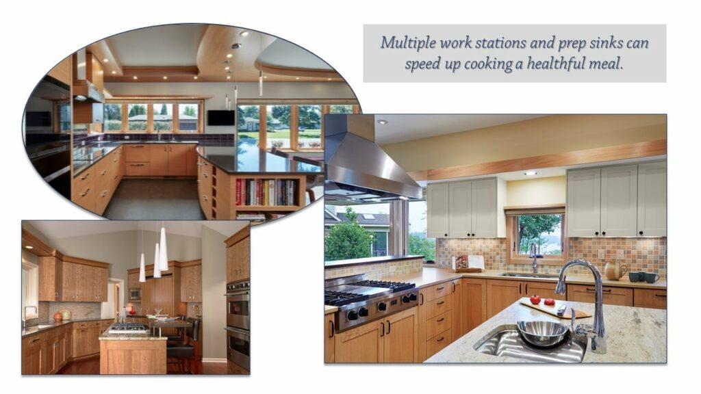 Designing Healthful Meals-Multiple work Stations