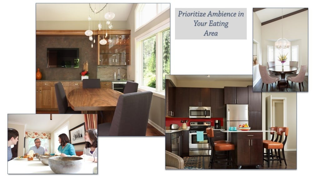 Designing Healthful Meals-Prioritize Ambience