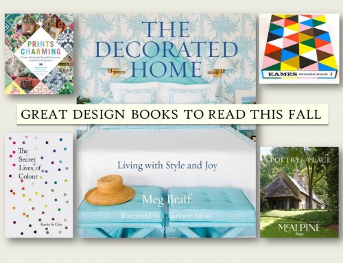 Great Design Books to Read This Fall Friday's LiLu Look of the Day