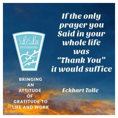 An Attitude of Gratitude at work