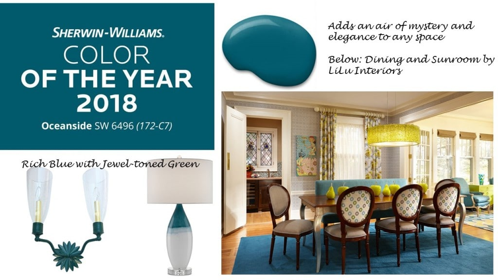 2018 Sherwin Williams' Color of the Year is Oceanside