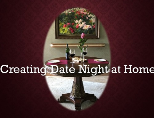Creating Date Night at Home – Monday's Peek at a Valentine's Day Dining Experience  for Two