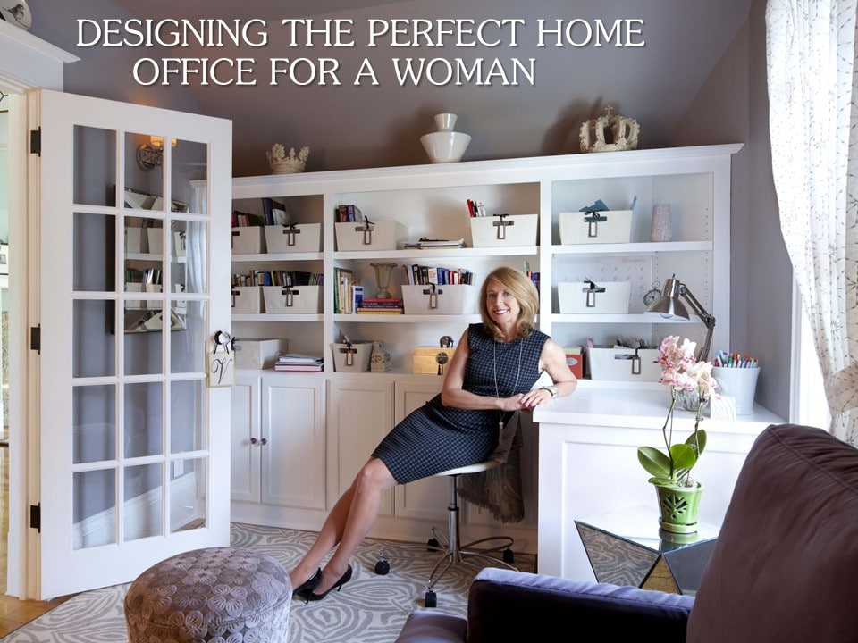 perfect home office for woman