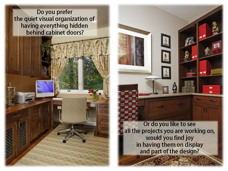 home office design for a woman