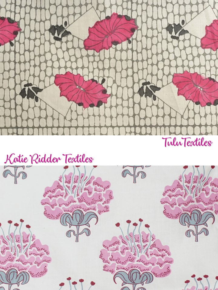 Floral Fabric Tulu Katie Ridder