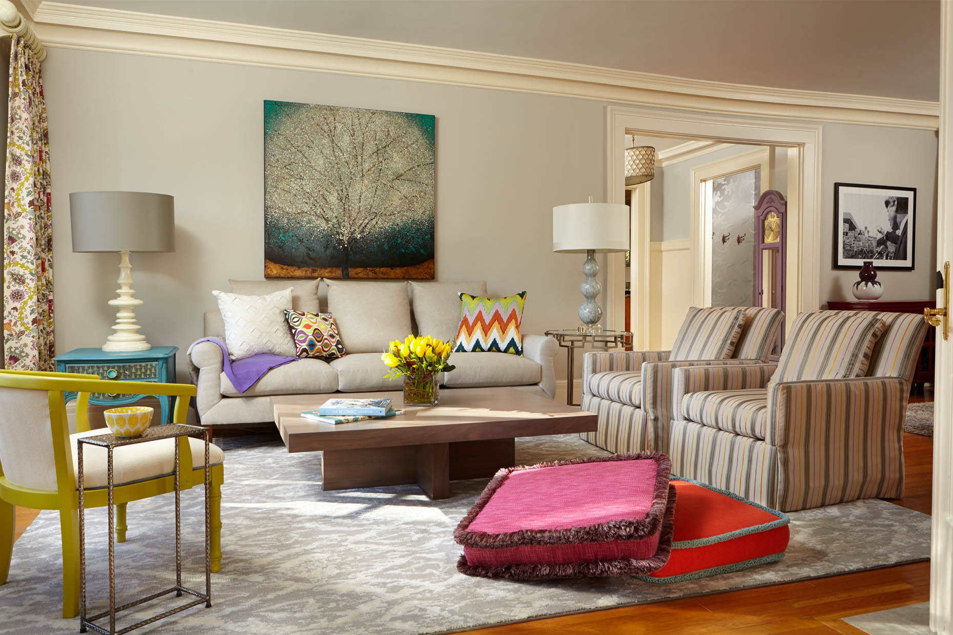 award winning interior design Minneapolis Color