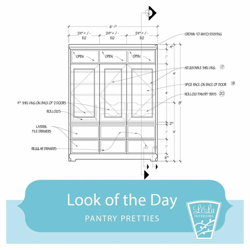 Pantry Pretties - Friday's LiLu's Look of the Day