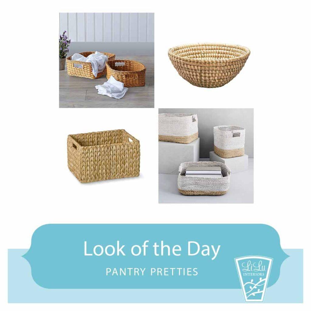 Pantry Pretties - Storage Baskets