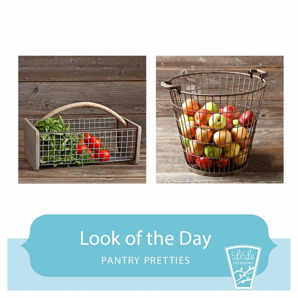 Pantry Pretties - Wire Baskets