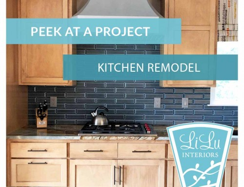 Monday LiLu's Peek at a Project: Kitchen Before and After