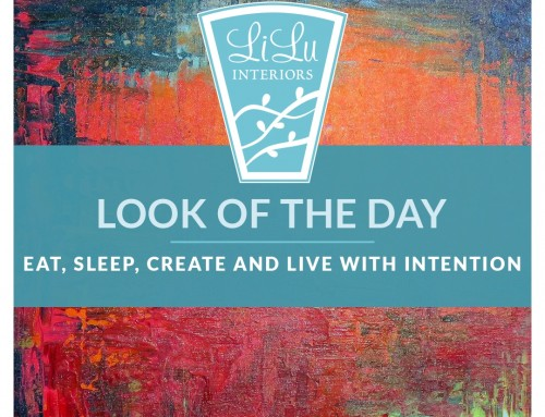 Live Intentionally-Eat, Sleep, Create -Look of the Day