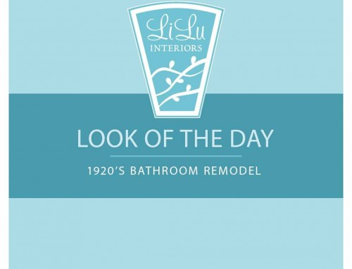 Look of the Day: 1920's Bathroom Remodel