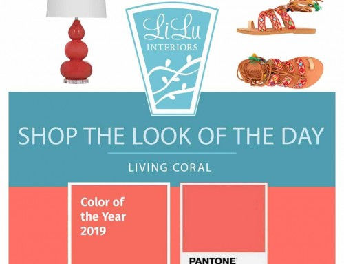 Shop the Look of the Day- Living Coral – Color of the Year 2019