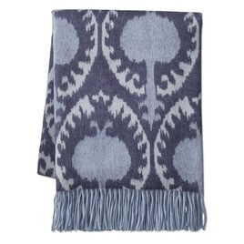 throw blanket blue