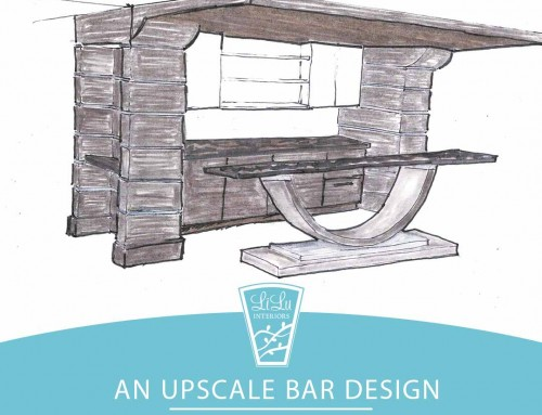 Date Night: A Client's Upscale Bar Design Peek at a Project