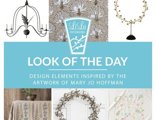 Inspired by Mary Jo Hoffman: Look of the Day
