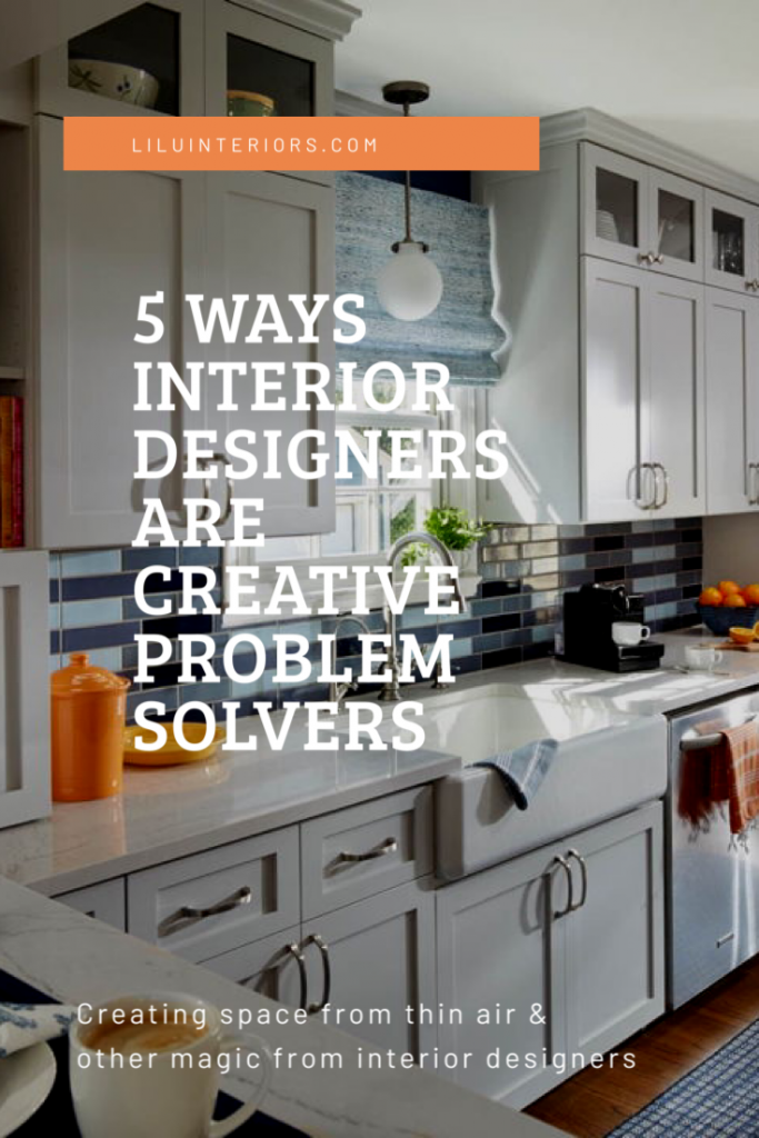 interi In many ways the interior designers of LiLu Interiors help homeowners solve functional problems in their homes to make life easier CLICK TO READ MORE #interiordesigner #interiordesignideas #kitchenremodel #kitchenrenovation #homeideas