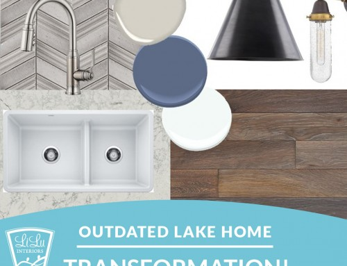 How We Brought an Outdated Lake Home from Tired to Nature-Inspired!