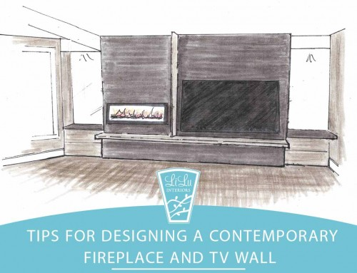 Tips for Designing a Contemporary Fireplace and TV Wall