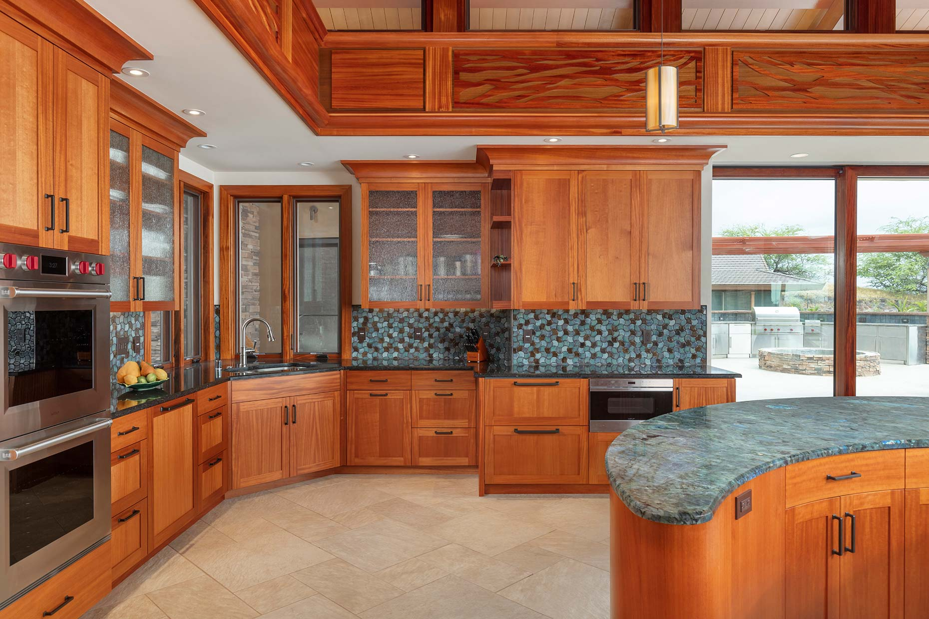 Hawaii luxury kitchen new construction home