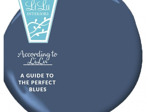 A Guide to the Perfect Blues-According to LiLu Interiors