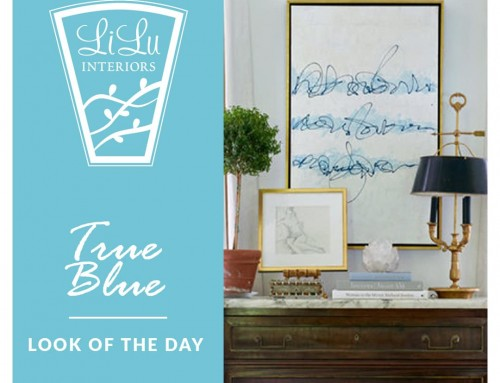 8 True Blue Beauties for your Home: LiLu's Look of the Day
