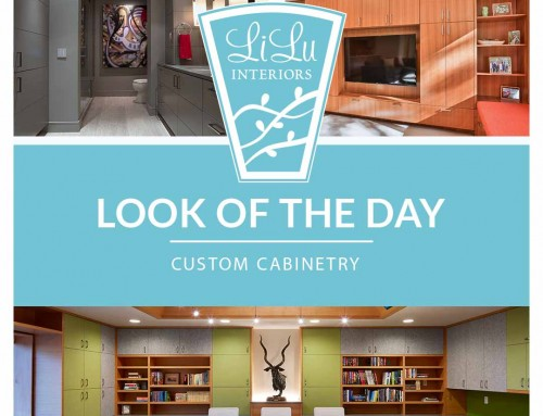 Custom Cabinetry LiLu's Look of the Day